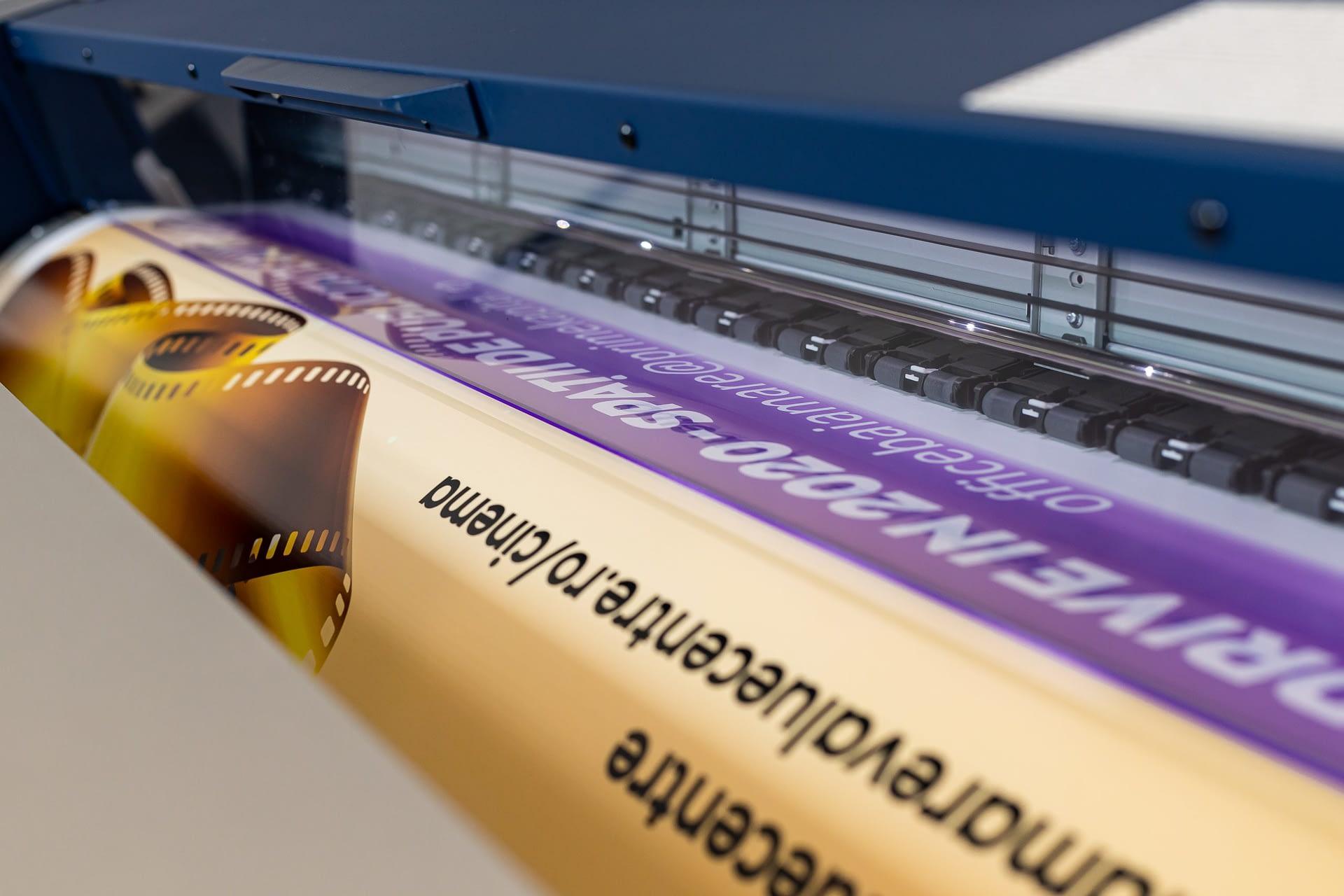 Imprimare material pulicitar large format